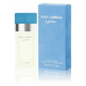 dolce gabbana light blue for women