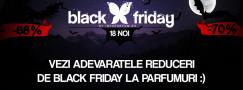 Selectie cu adevaratele reduceri la parfumuri de Black Friday